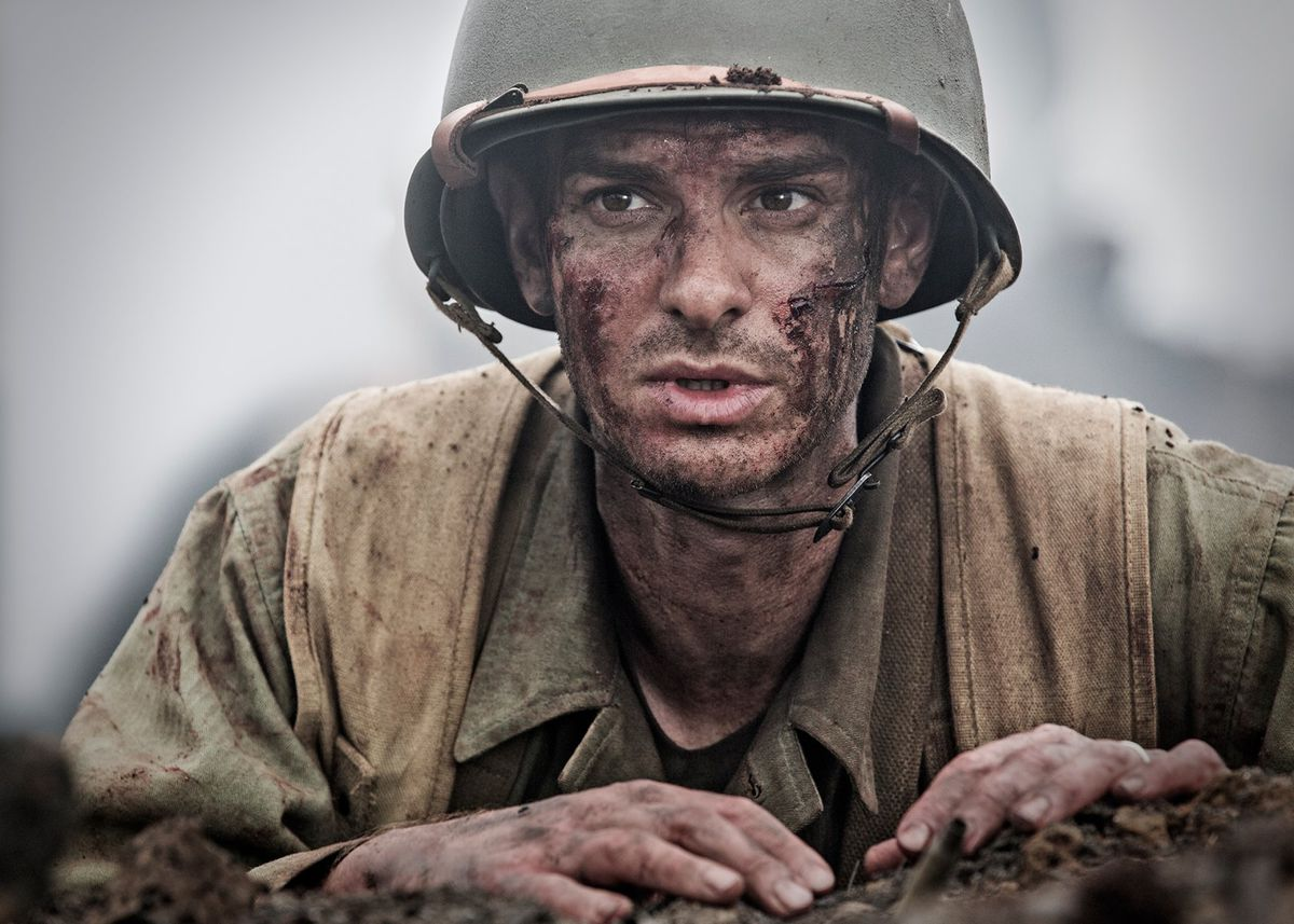 Hacksaw Ridge Is A Red State Movie About Wwii Hero Who Wont Touch Short Circuit 2 Johnny 5 Vs Thugs And Oscar 1080 Hd Andrew Garfield Plays Desmond Doss In