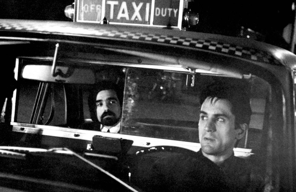 A young Martin Scorsese plays a client of Travis Bickle's in 1976's Taxi Driver