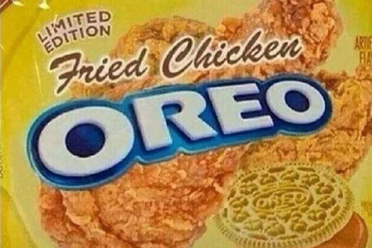 ef35f11424a Fried Chicken Oreos Are Totally Fake, Oreo Confirms - Eater