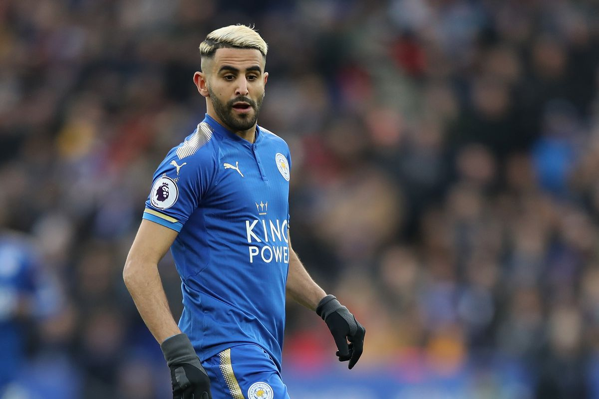 Manchester City Make Bid For Mahrez But Leicester Not Interested