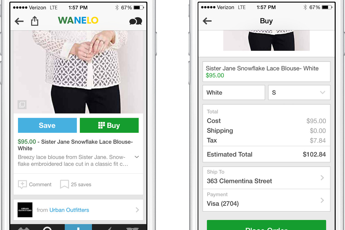 Urban Outfitters and 200 Others Start Selling Directly in Shopping App Wanelo