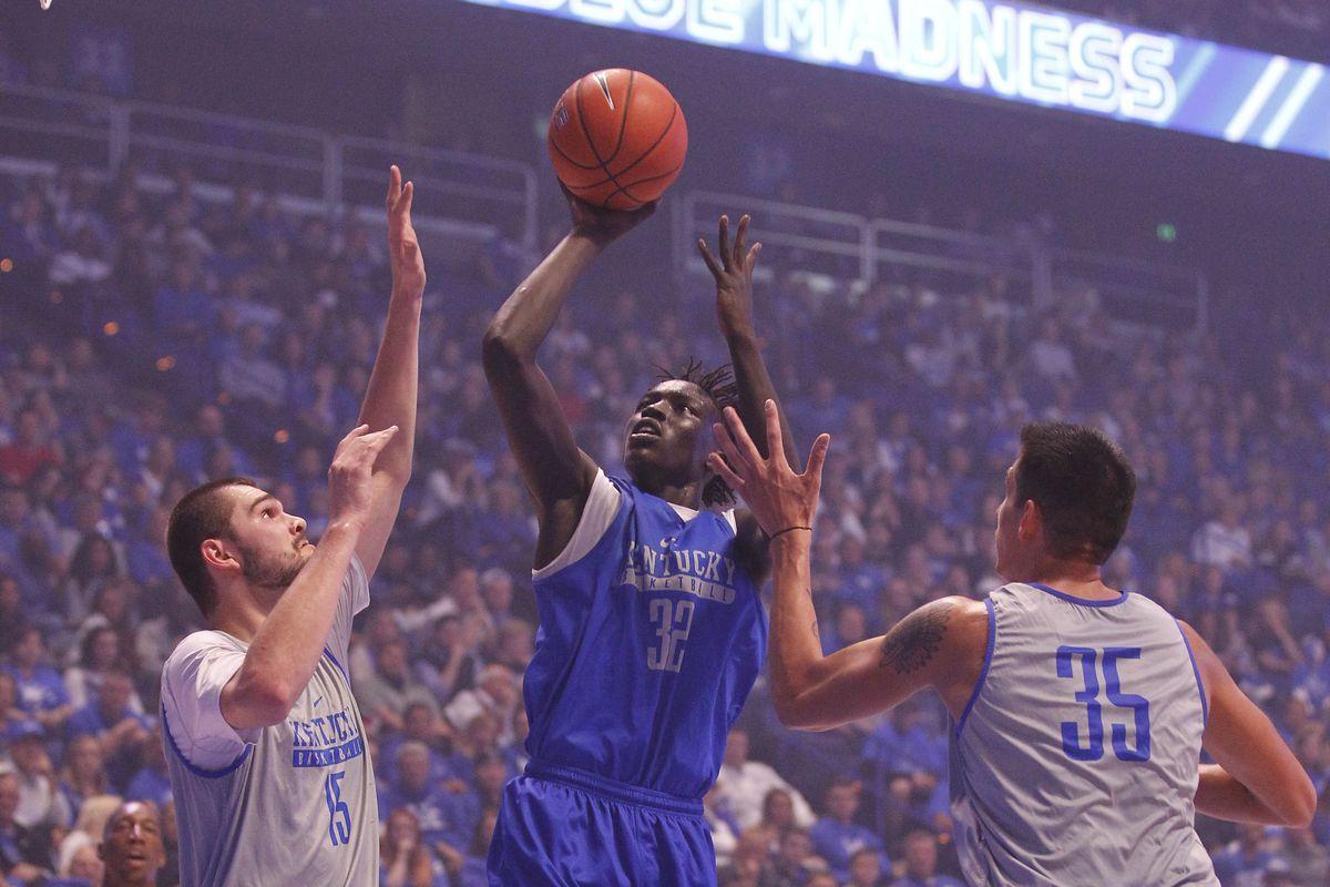 NCAA Basketball: Kentucky Midnight Madness