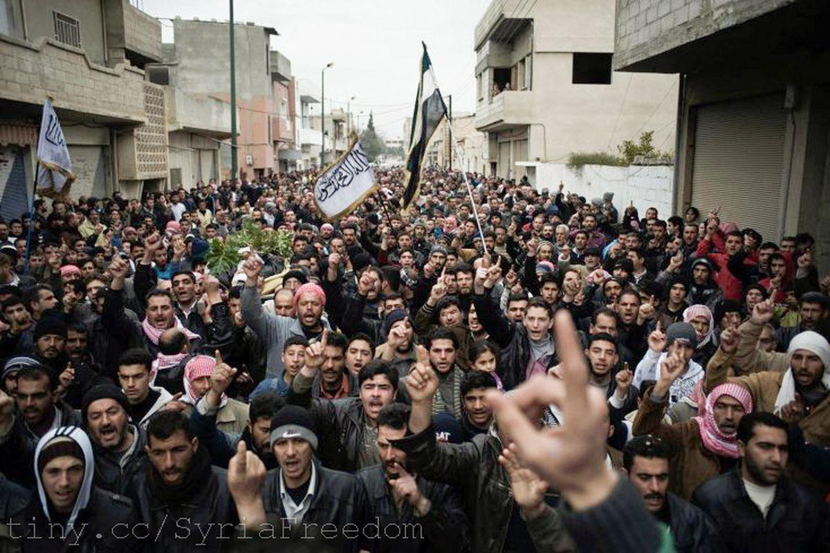 syria civil war flickr freedom house