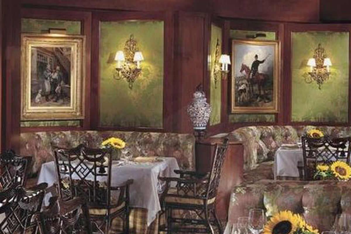 The now-closed Dining Room at the Ritz Carlton.
