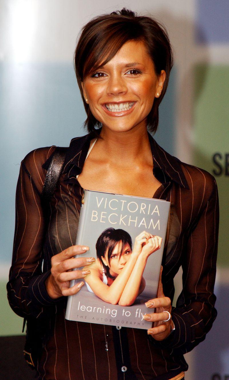 Victoria Beckham At Booksigning