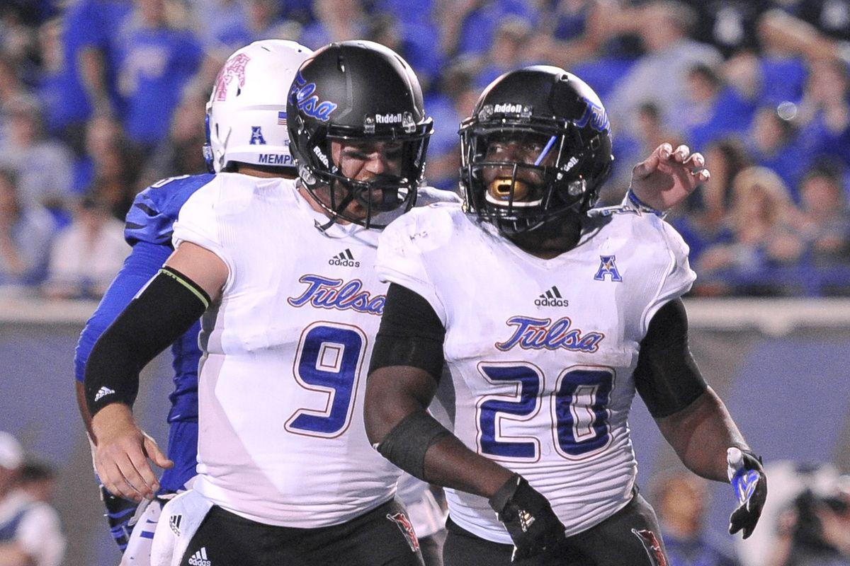 NCAA Football: Tulsa at Memphis