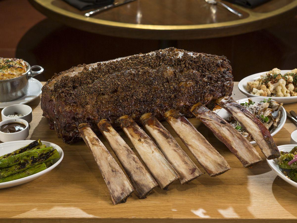 MB Steak tomahawk presentation