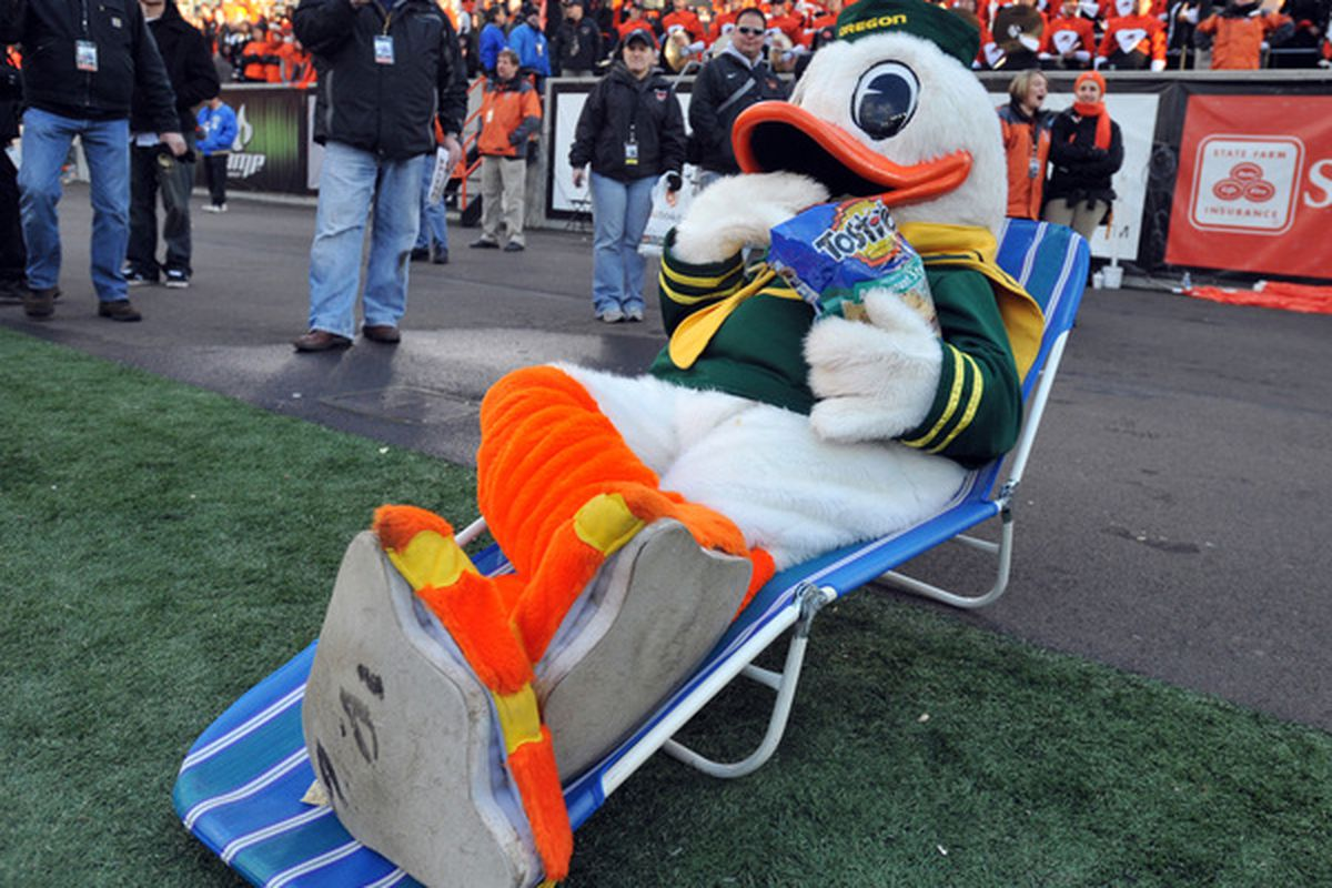 Representative of the Ducks' feelings about playing in the national championship game?