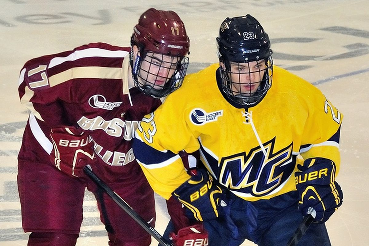 Merrimack and BC will meet for the second time in nine days when CBS Sports Network visits Lawler Arena on Sunday.