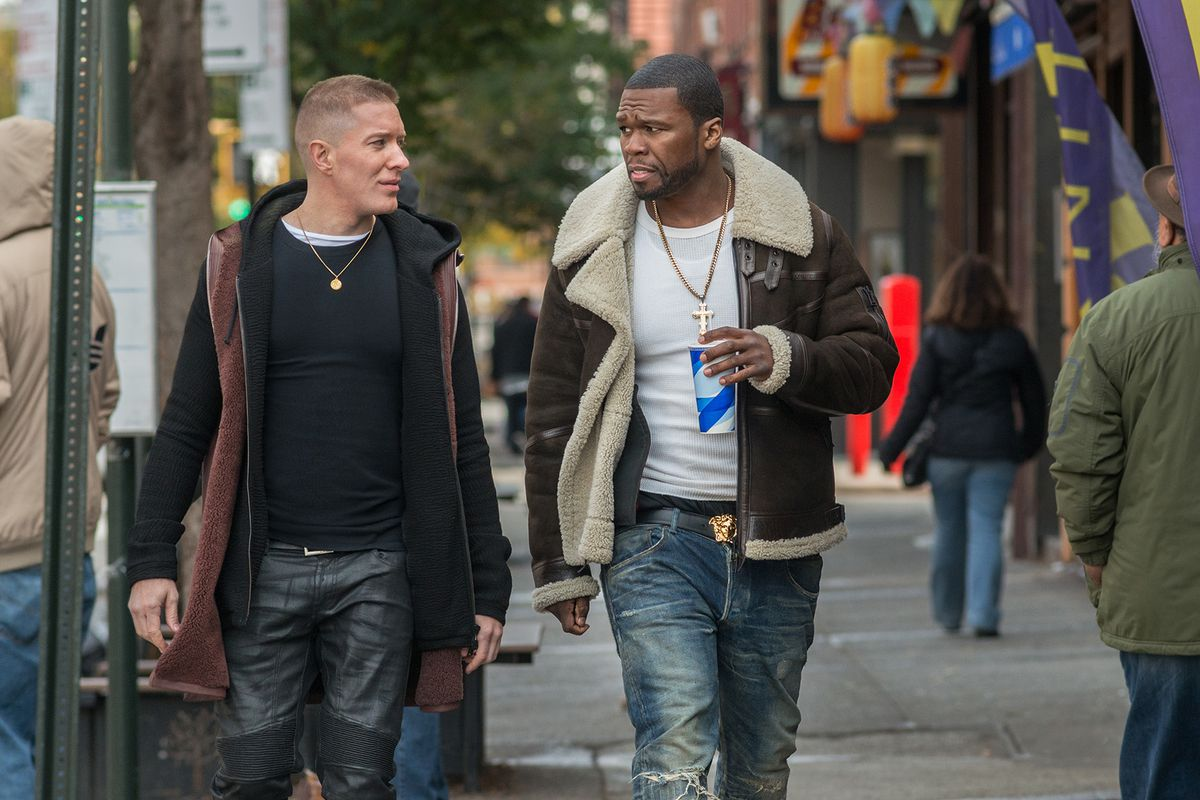 Joseph Sikora and 50 Cent in Power.