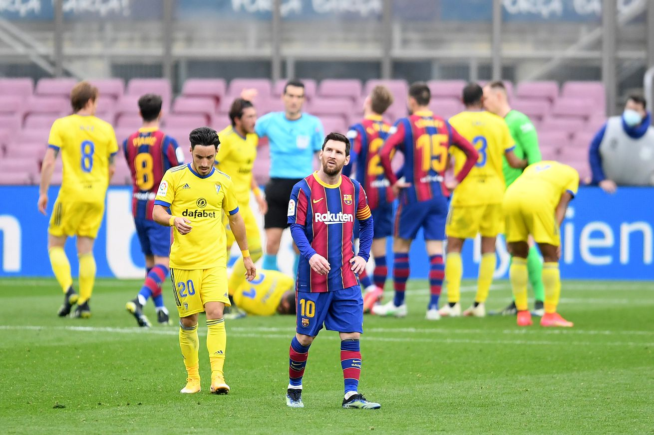 Barcelona?s problems from back to front persist