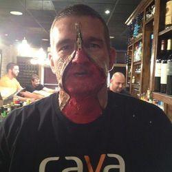 Steve Laake of Cava gets scary.