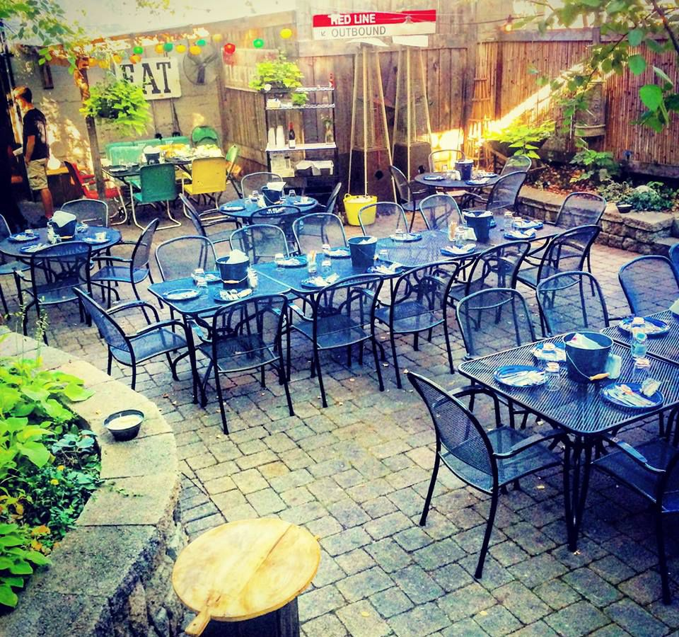 The Ashmont Grill patio