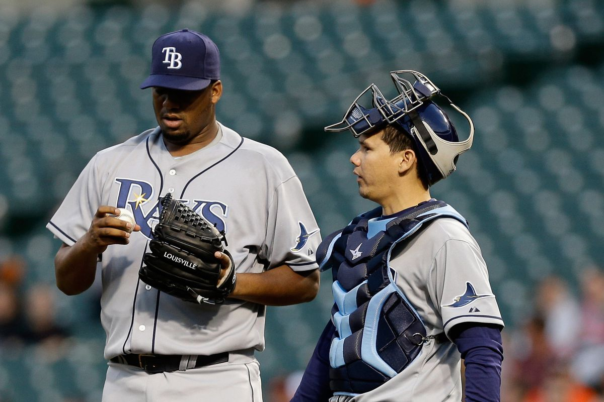 He made a deal for the Rays' defense, and got the Rays' run support, too.