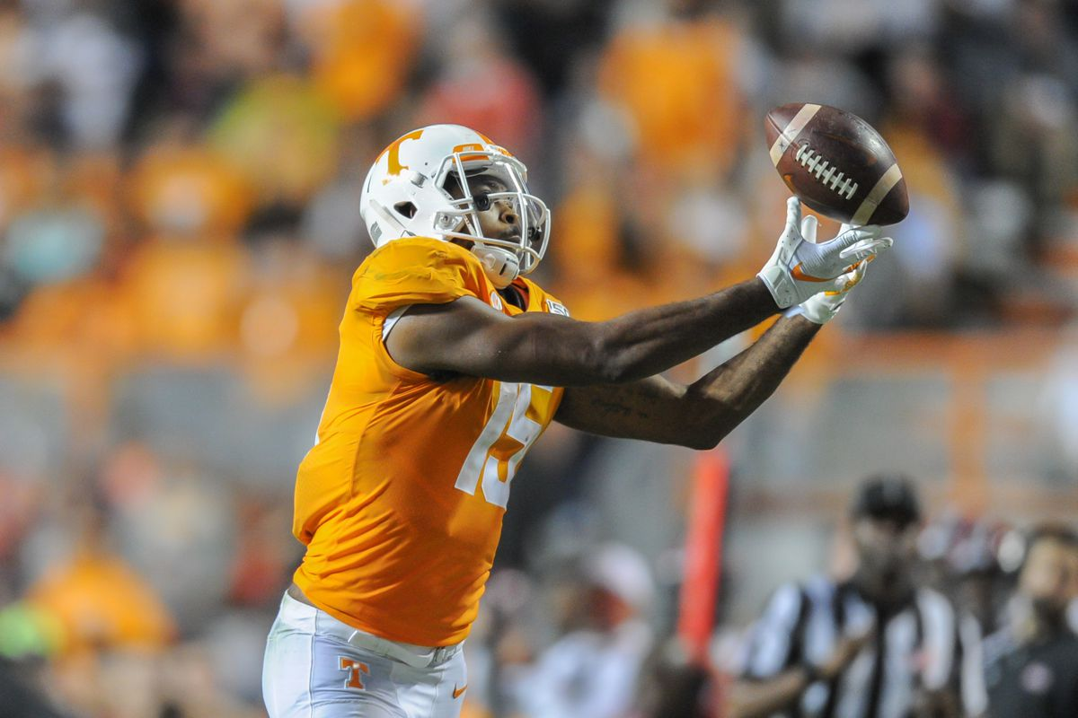 Latest 2020 NFL mock draft has Tennessee WR Jauan Jennings in 1st round