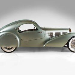 Bugatti Type 57S Compétition Coupé Aerolithe recreation, 1935