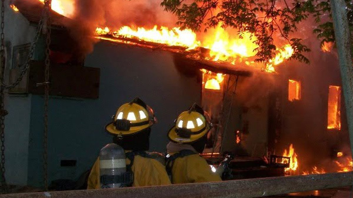 Amika Mota and a fellow firefighter battled blazes while incarcerated at the Central California Women's Facility's firehouse in Chowchilla.