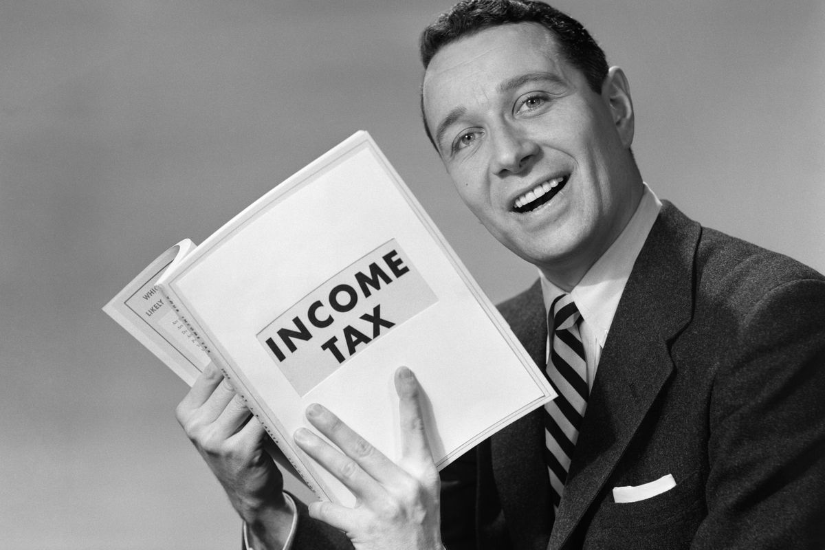 Income taxes.