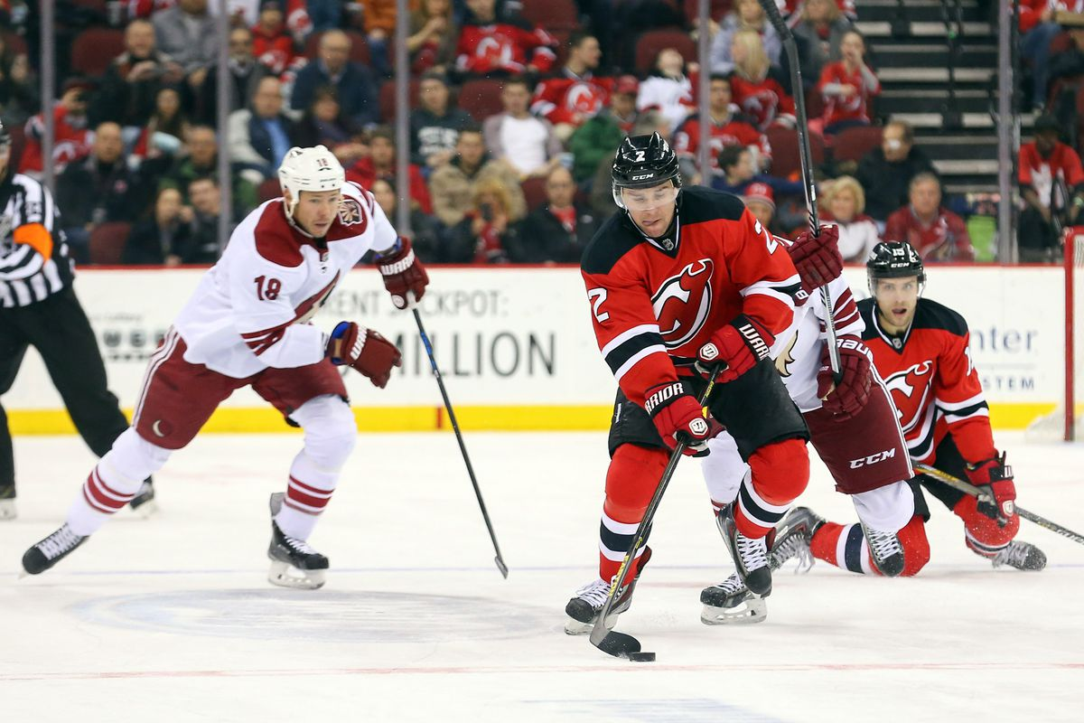 Marek Zidlicky will no longer be moving the puck for the Devils.