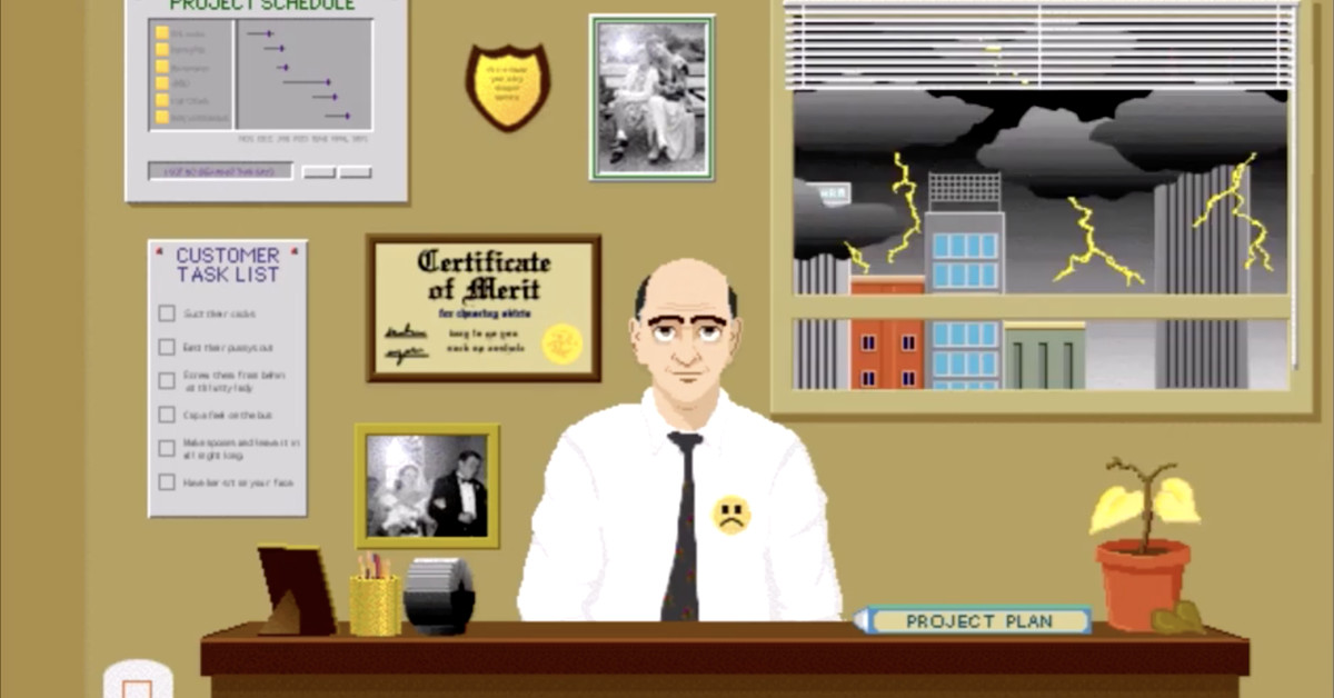 Go read this incredible history of the SimCity studio's forgotten business games division