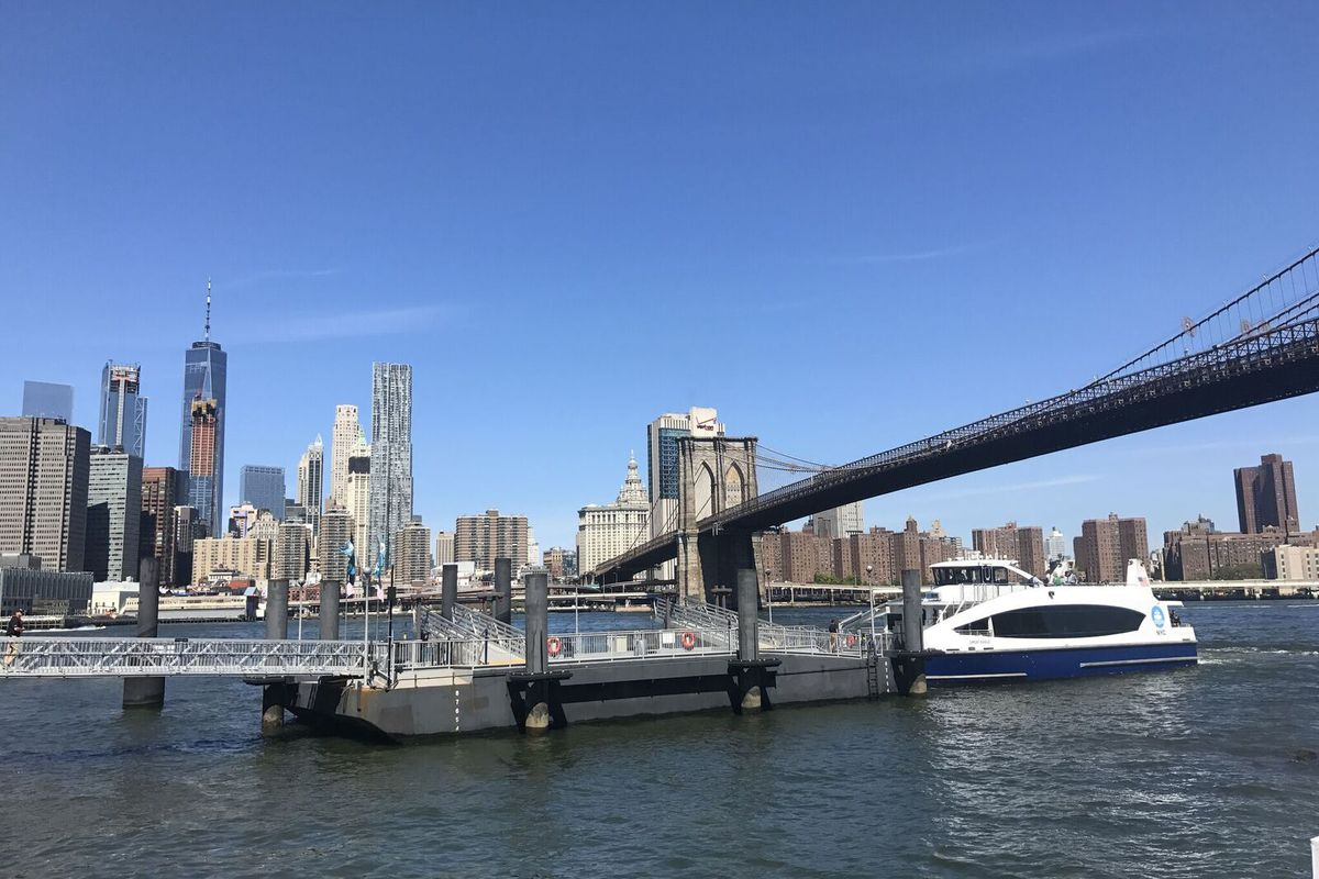 NYC Ferry's East River route is the most beautiful commute