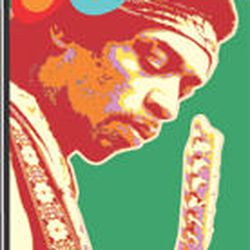 '60s icon Jimi Hendrix.