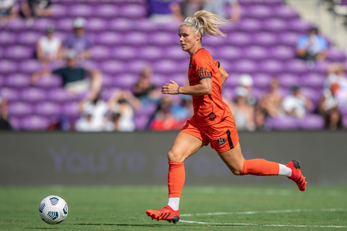 Rachel Daly leads the Dash with five goals in ten games, however she's with the England National Team.