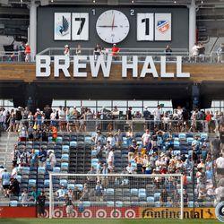 June 29, 2019 - Saint Paul, Minnesota, United States - Minnesota United defeated FC Cincinnati 7-1 in a match at Allianz Field.