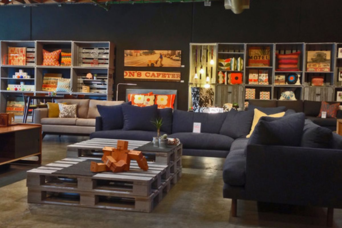 bobby berk home brings more retro decor to helms bakery. Black Bedroom Furniture Sets. Home Design Ideas