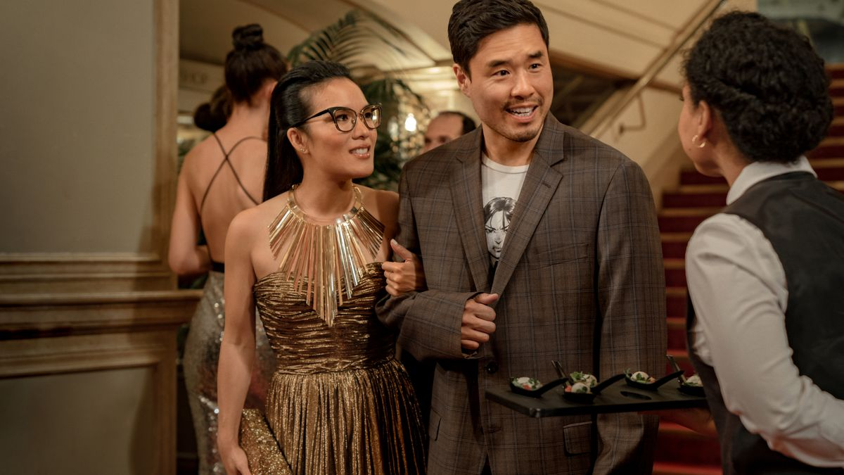 Ali Wong and Randall Park in Always Be My Maybe.