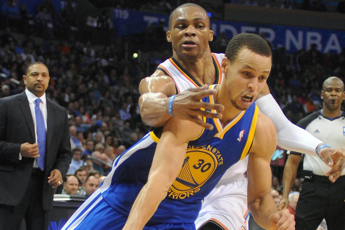 Russell Westbrook vs  Stephen Curry - Golden State Of Mind