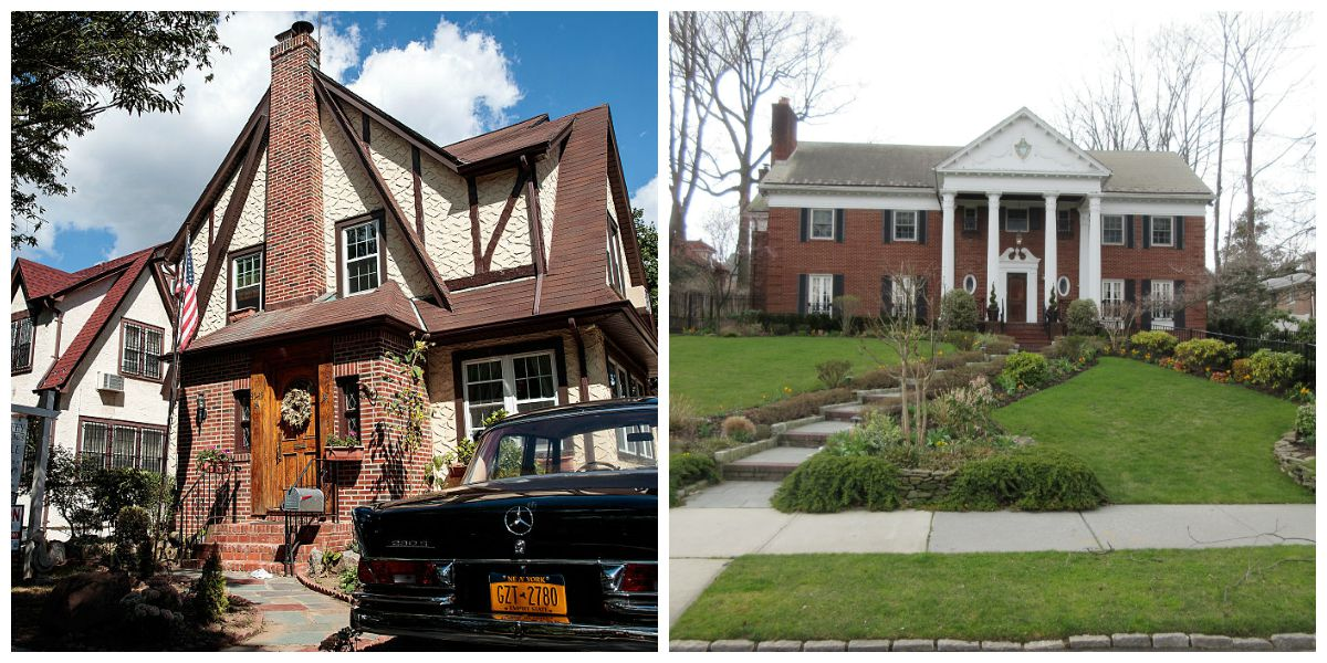 Two of the Trump family homes in Jamaica Estates