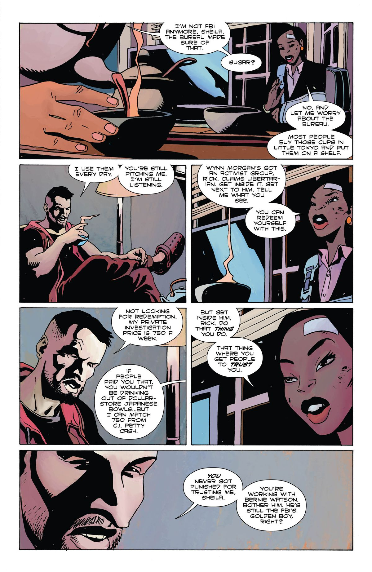 From American Carnage, DC Vertigo (2018).