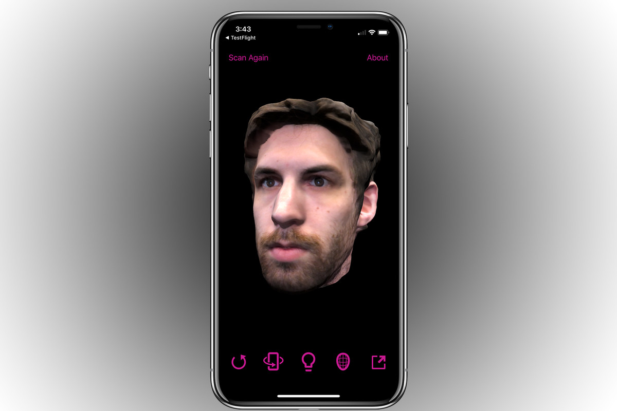 Bellus3D brings its uncanny 3D selfies to the iPhone X - The