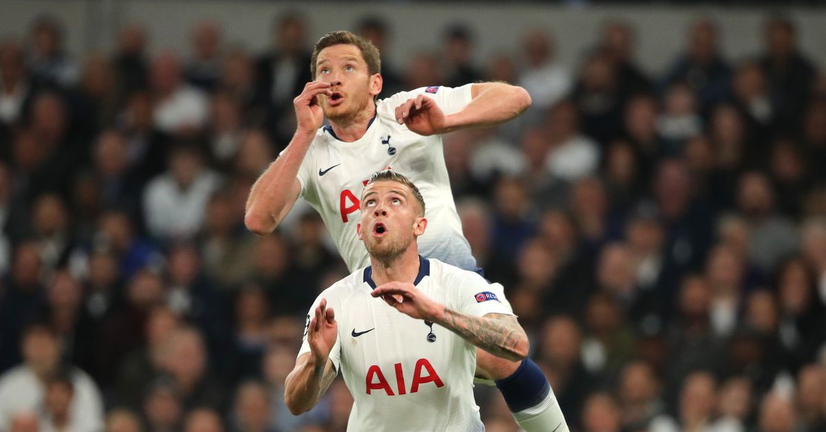 """Jan Vertonghen says he's """"fine"""" after head-to-head collision - Cartilage Free Captain"""