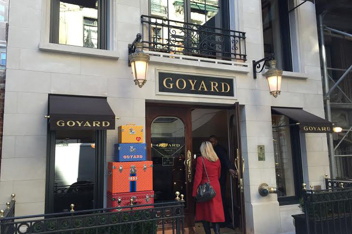3c97eae091df Goyard Quietly Debuted Its First NYC Store This Month - Racked NY