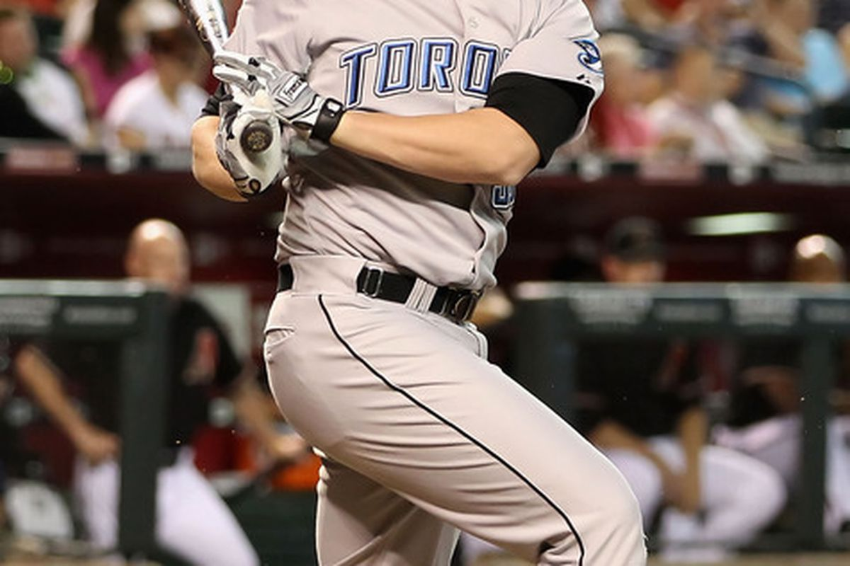 Lyle Overbay   (Photo by Christian Petersen/Getty Images)