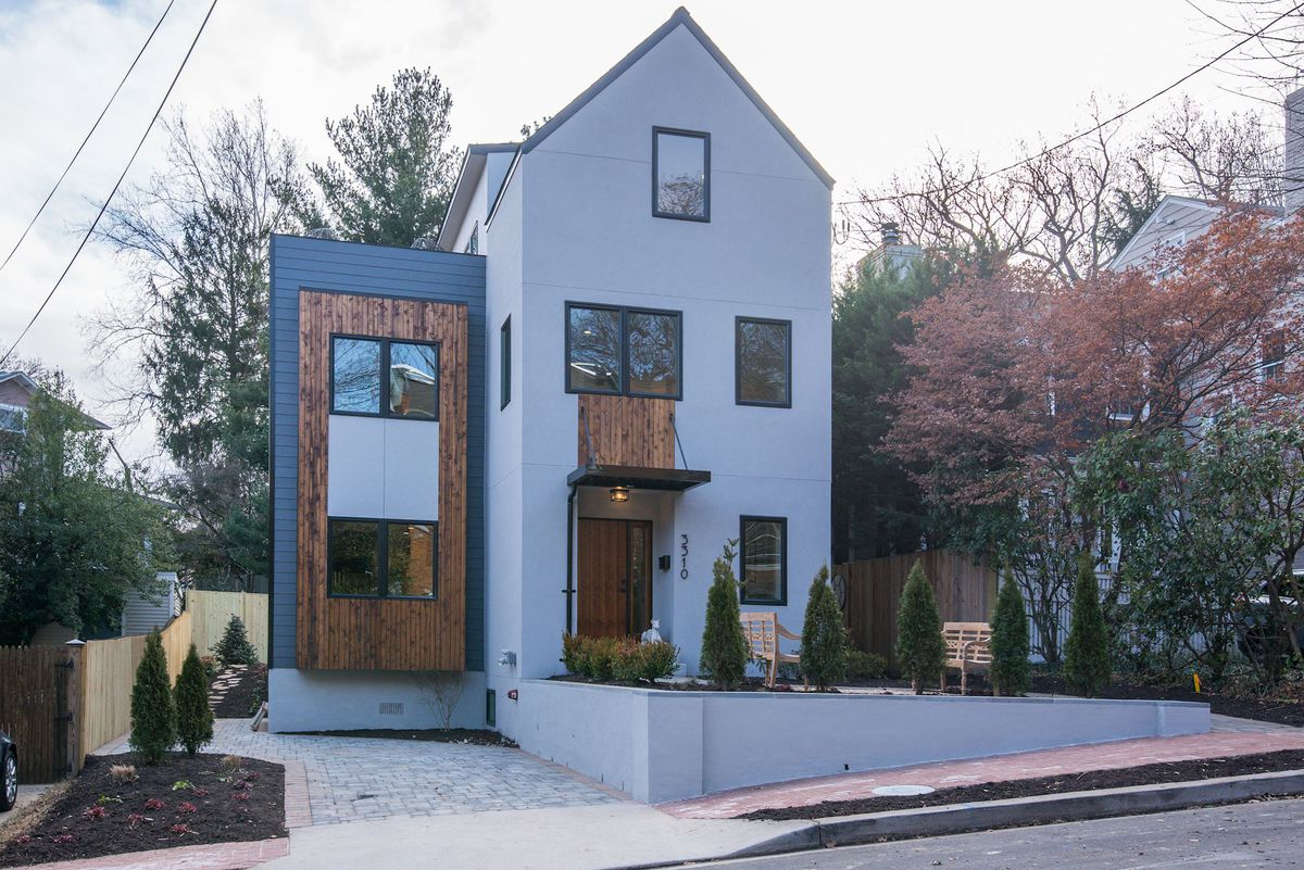Newly built Cleveland Park home with private gardens lists for $2.2M ...