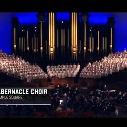 BYU quarterback Tanner Mangum, along with the Mormon Tabernacle Choir, is featured in a video released by ESPN Saturday.