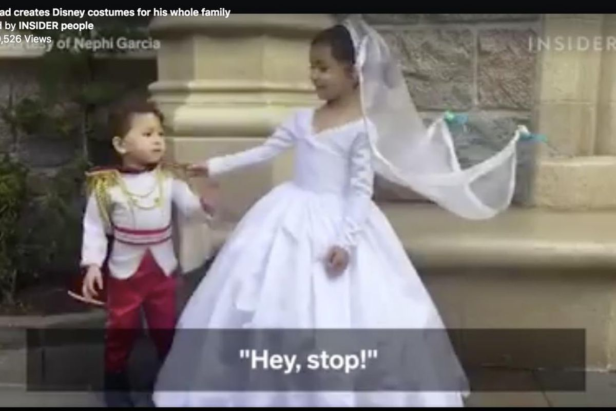 Amy Garcia Wikipedia the clean cut: lds dad's disney costumes go viral with over
