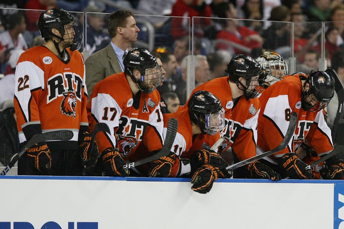 Rochester Institute of Technology remains the only Atlantic Hockey Association member school to make it all the way to the Frozen Four as the Tigers did in 2010.