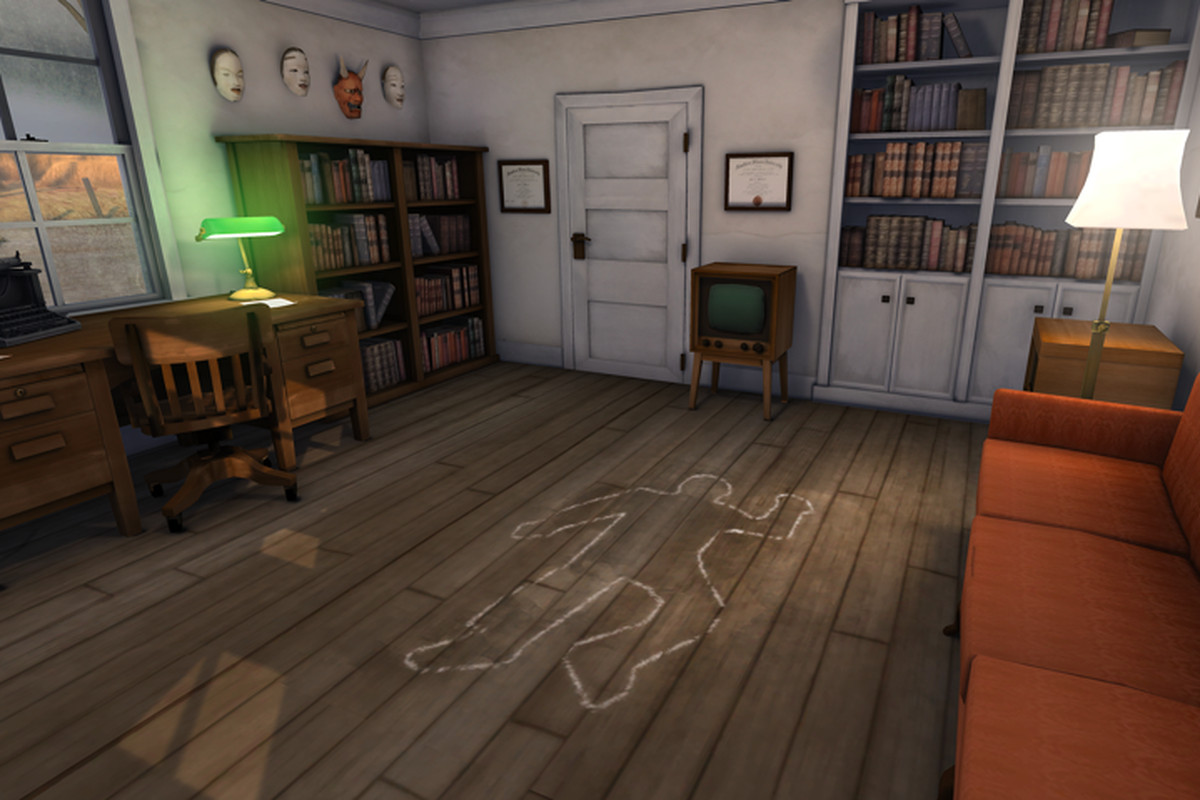 How To Solve A Murder In Vr Polygon