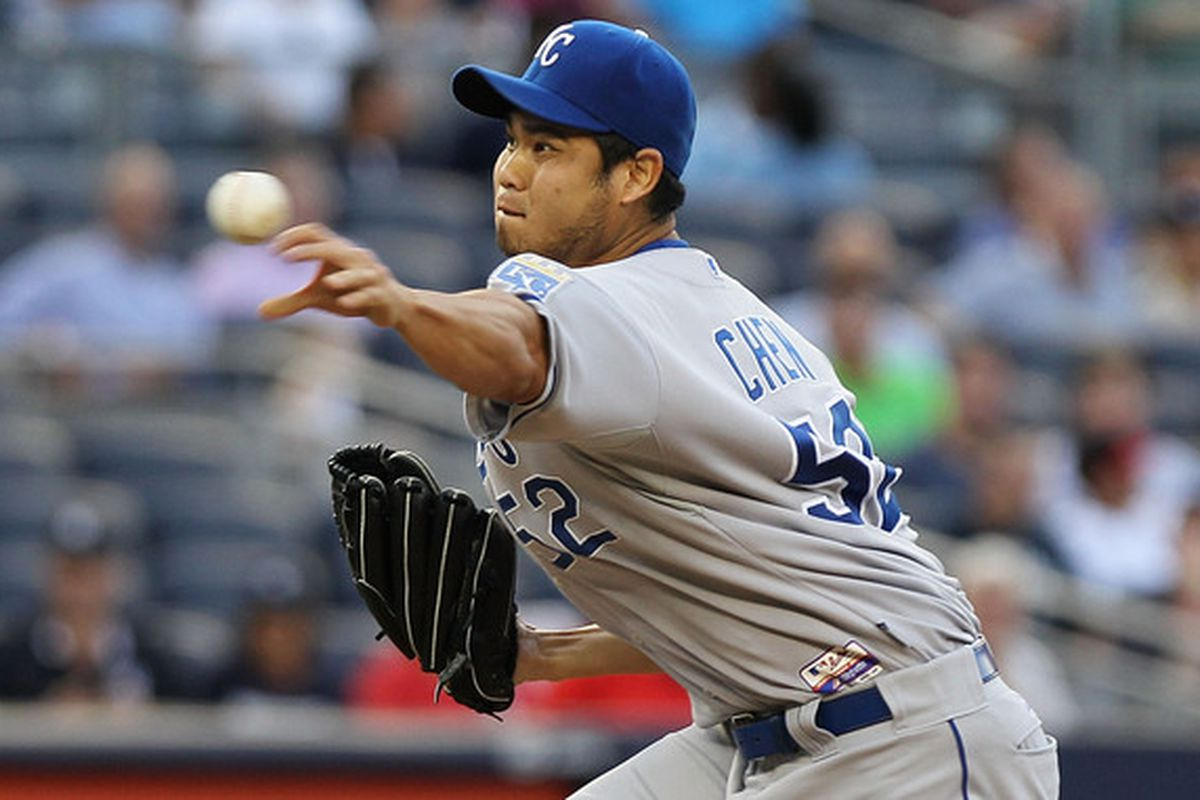 Bruce Chen remains the best the Royals have to offer.   Trust the Process.