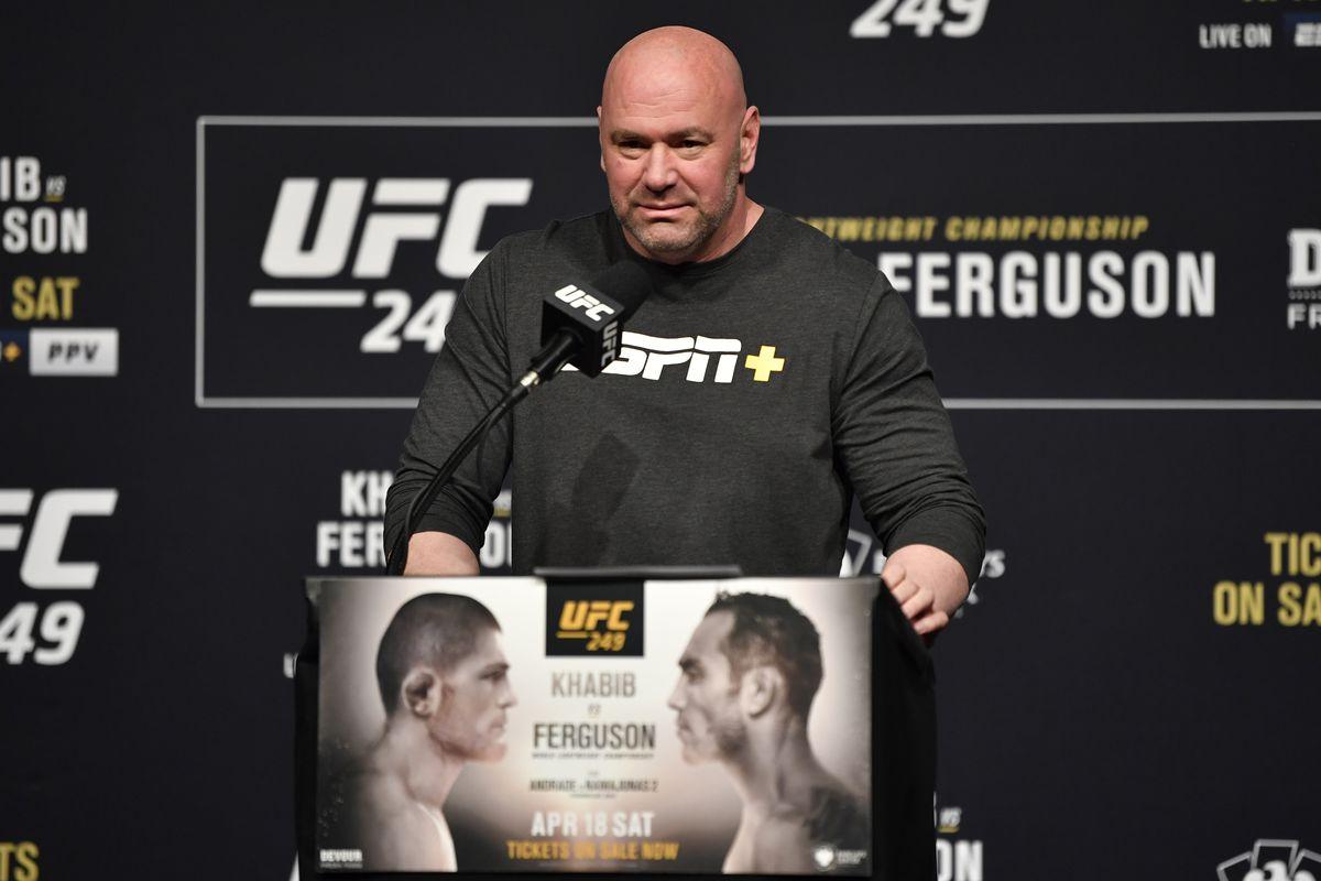 UFC 249 Khabib Nurmagomedov Tony Ferguson MMA News Shakiel Mahjouri COVID-19 Coronavirus