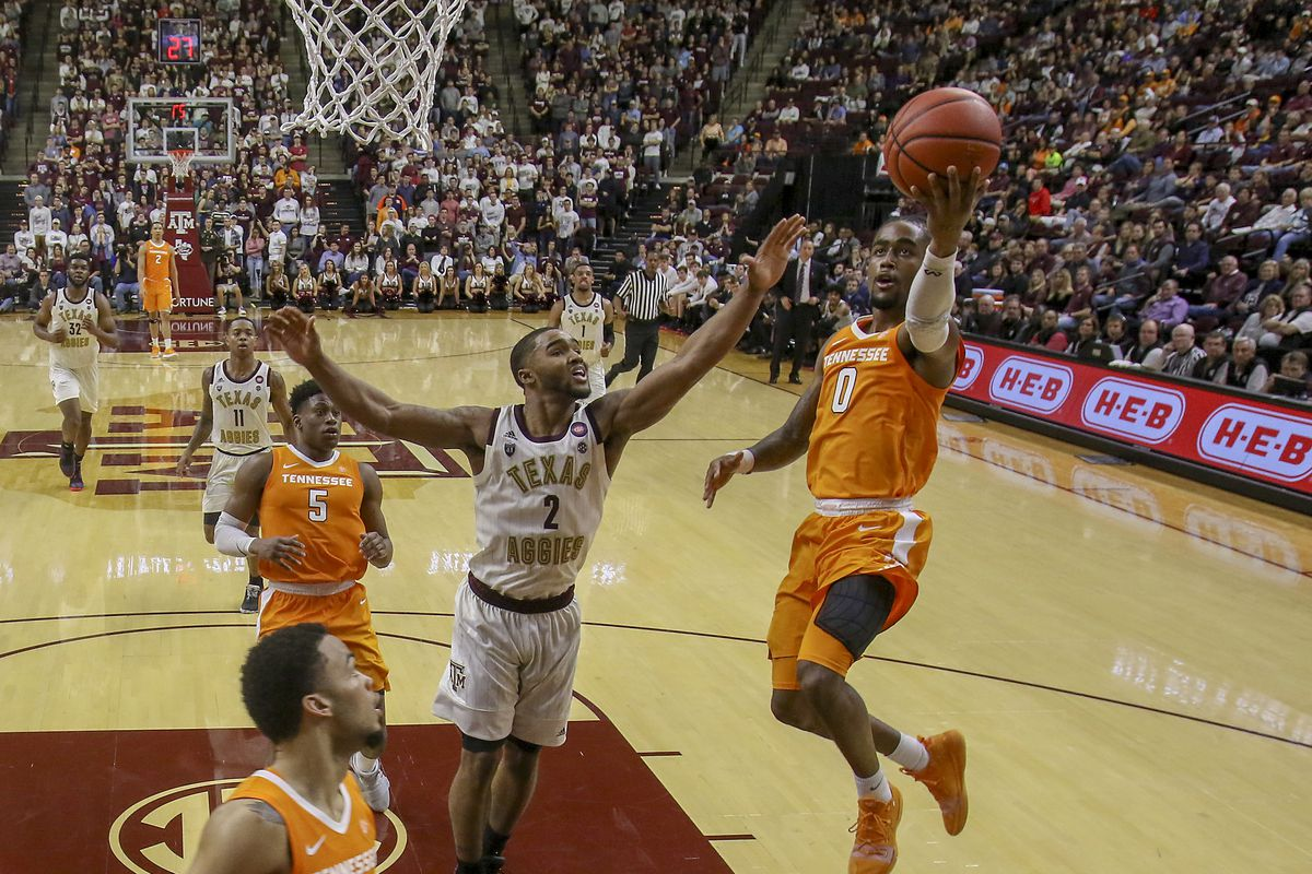 NCAA Basketball: Tennessee at Texas A&M