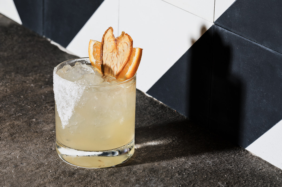 Mandacaru cocktail at Caboco.