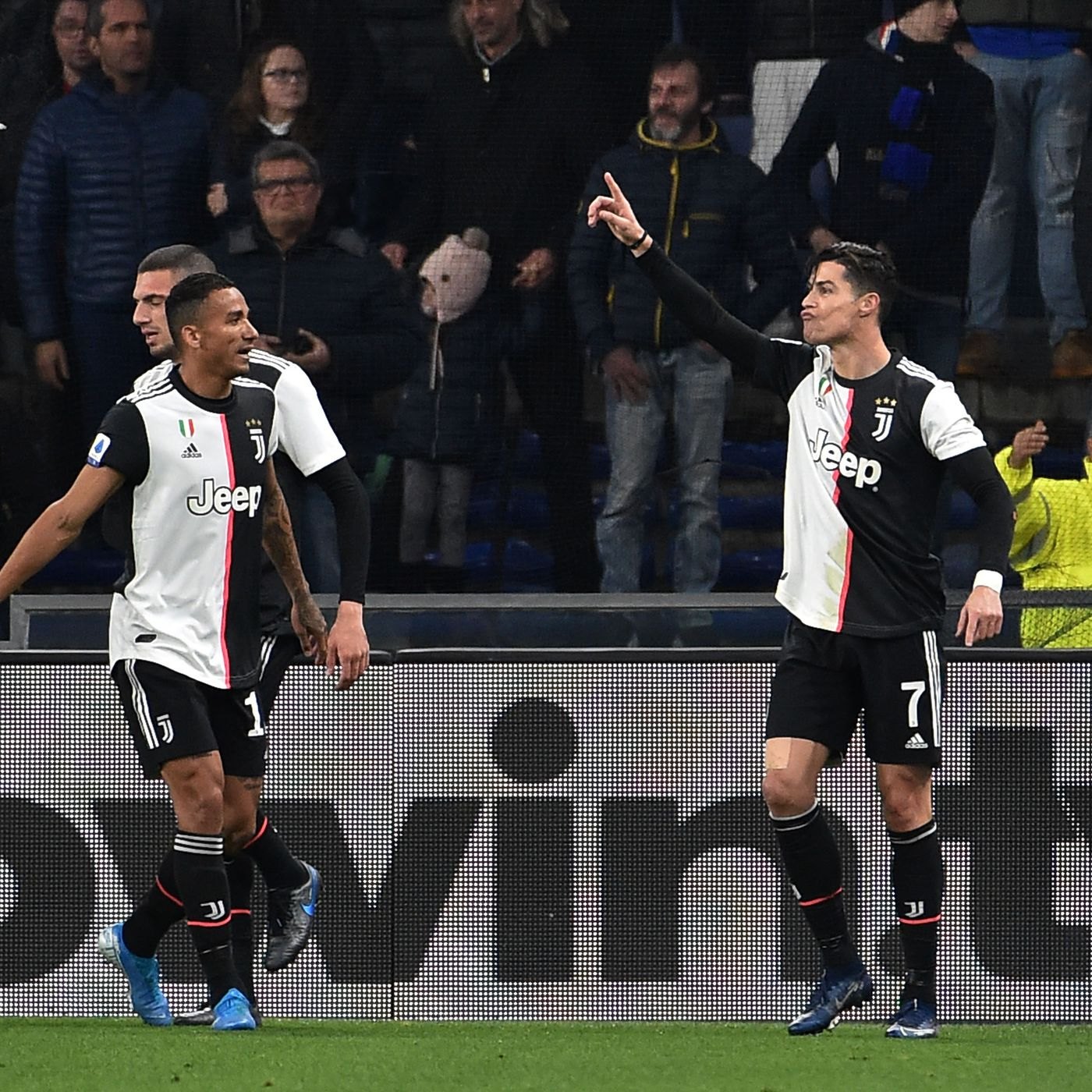 Super goals sink Samp as Juve break Marassi curse - Black & White ...