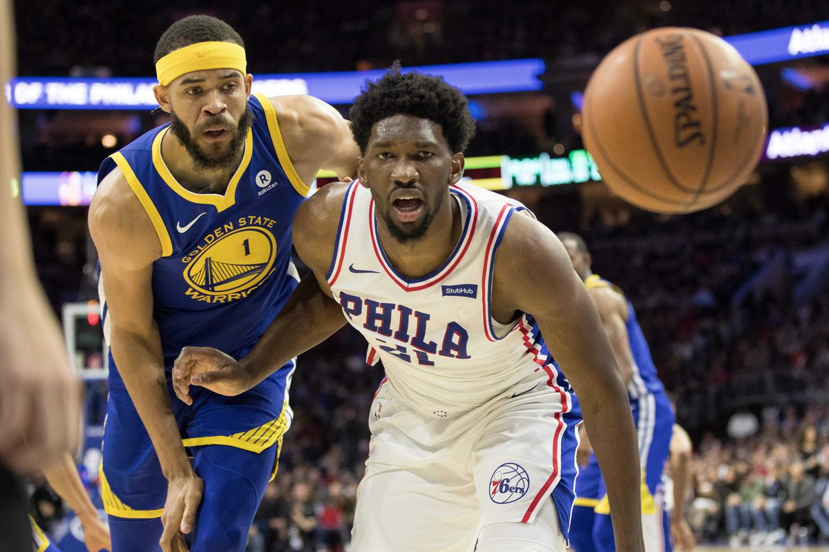 76ers and Warriors trade 47-point quarters in Golden State comeback win
