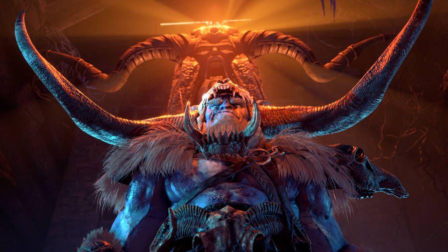 Kelvin, hero of thefrostgiants, in Dungeons & Dragons: Dark Alliance