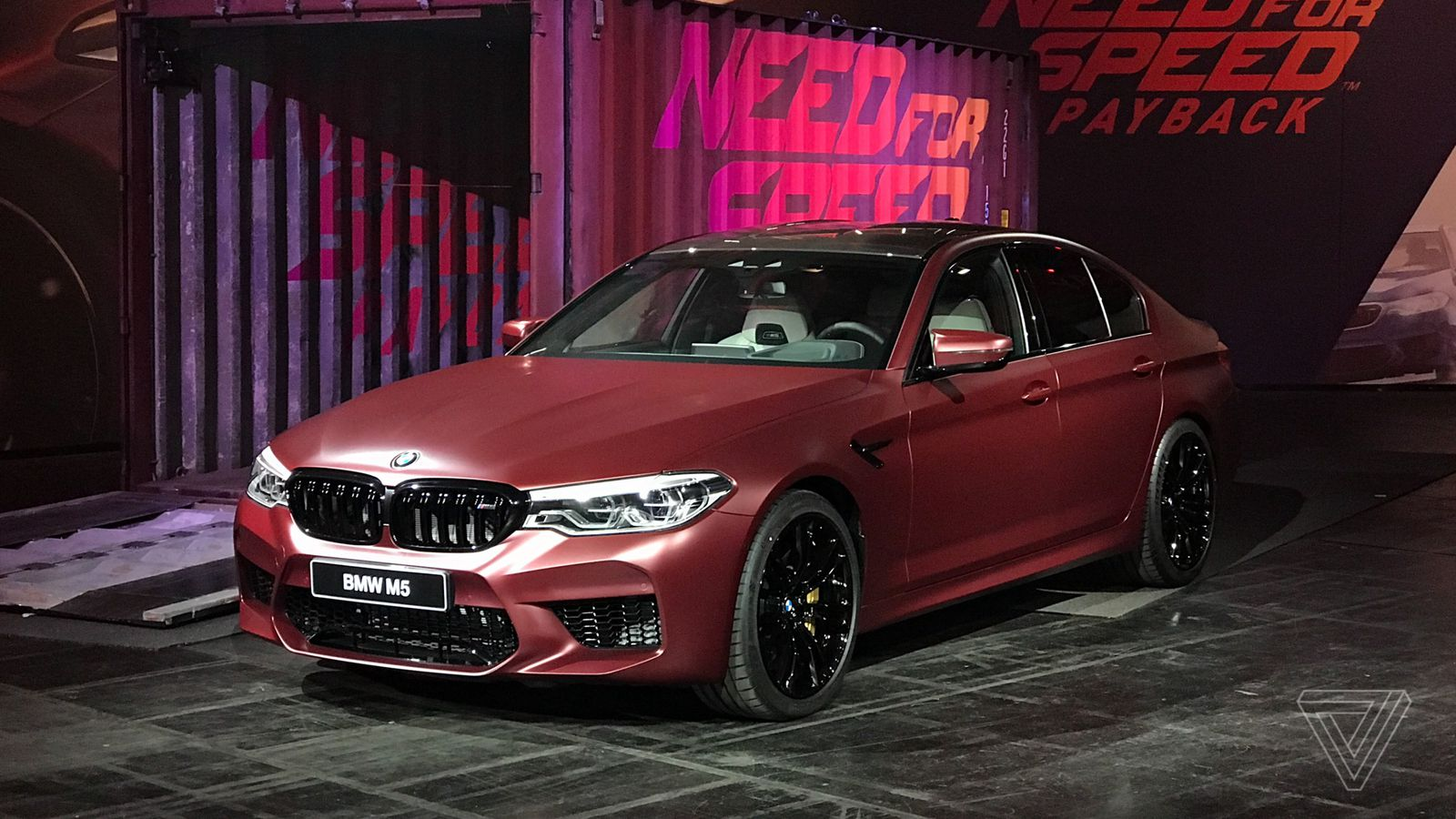 BMW shows off the new M5 in Need for Speed Payback - The Verge